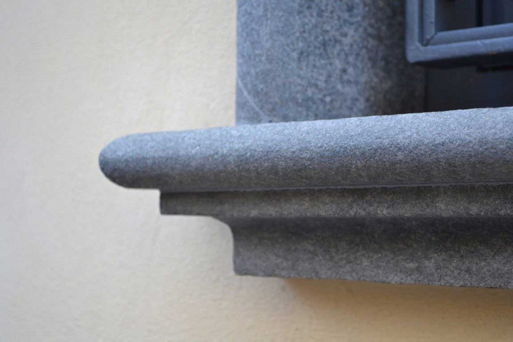 granito nero africa davanzale