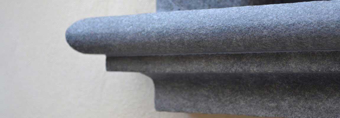 granito nero africa davanzale testata
