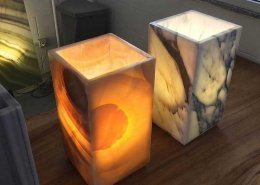 onyx and marble lamps 2