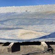 azul macaubas marble slab