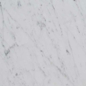 white Carrara marble C tile