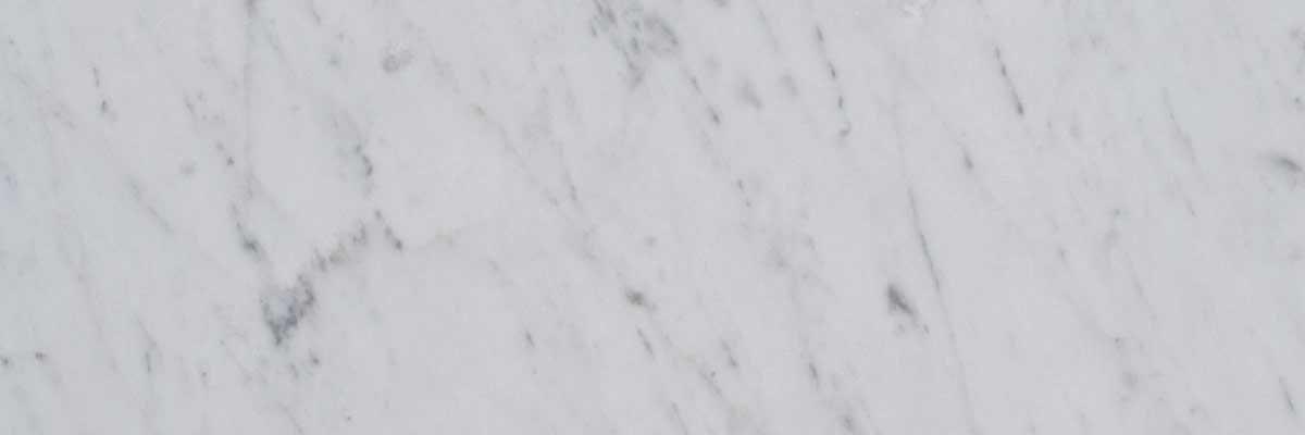 marmo bianco di Carrara C testata