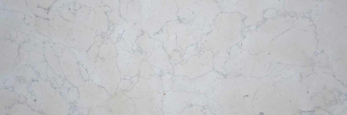 Biancone marble header