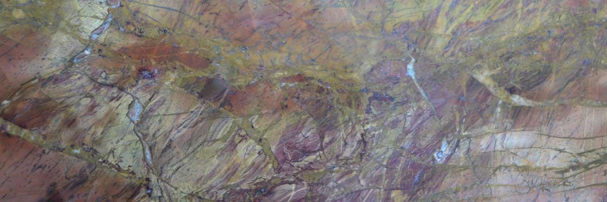 marmo rosso damasco testata