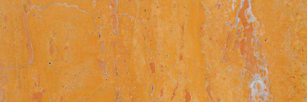 yellow travertine marble header