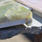 green onyx processing detail