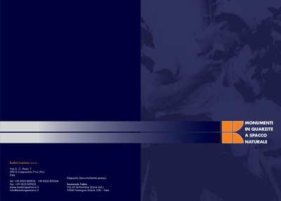copertina Catalogo Monumenti in Quarzite in formato PDF