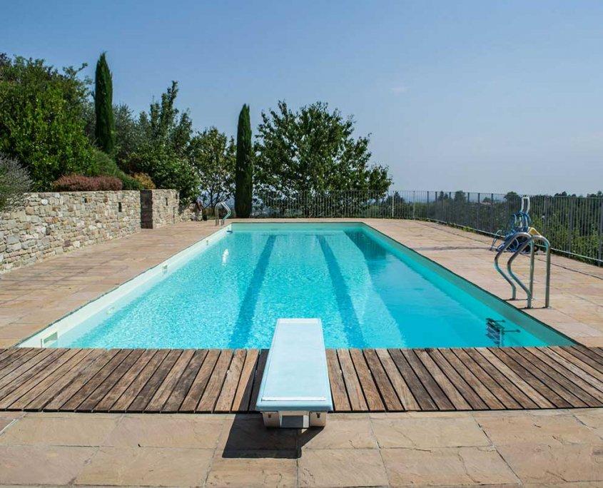 pavimentazione gaja gold piscinpavimentazione piscina in quarzite Gaja Gold - esternaa esterna