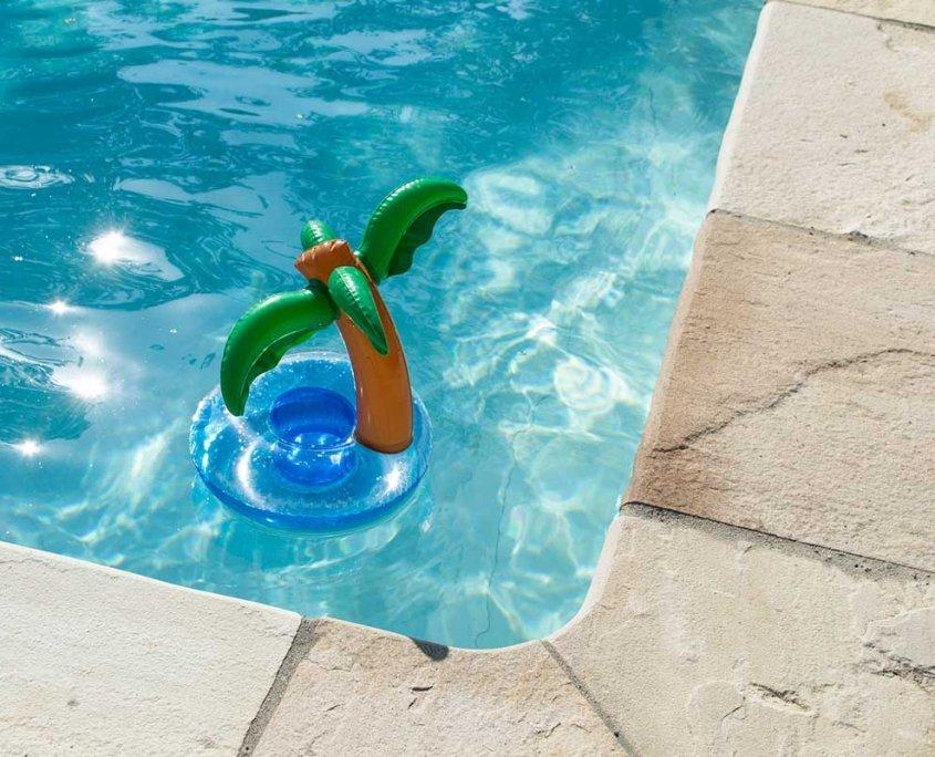 pavimentazione piscina in quarzite Mint - dettaglio